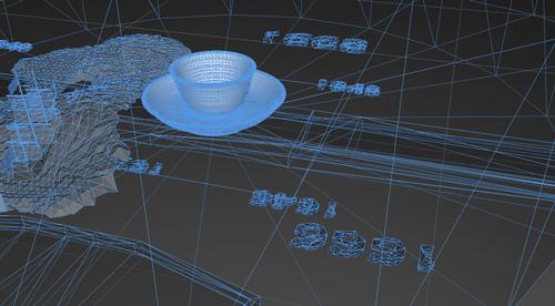 augmented reality screenshot, smart replicas, Maaike Roozenburg