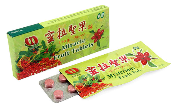Miracle berry tablets