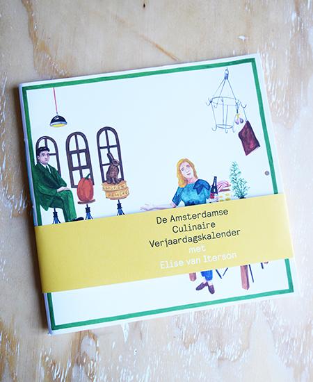 Amsterdamse Culinaire Verjaardagskalender Elise van Iterson