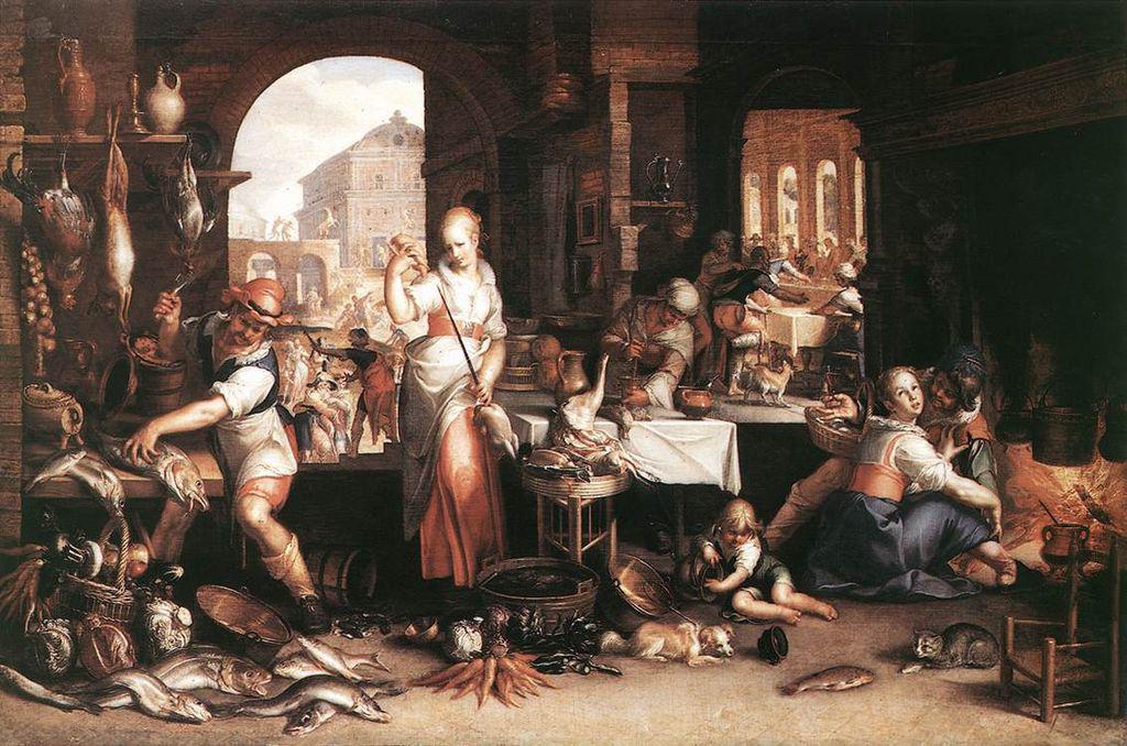 Joachim Wtewaal keukenscene