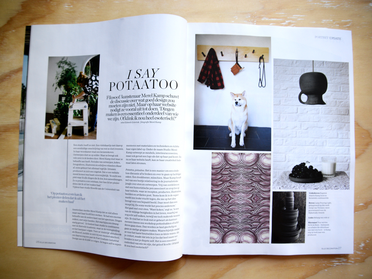 potaatoo in Elle Decoration