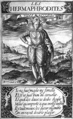 Les Hermaphrodites, Thomas Artus 1605