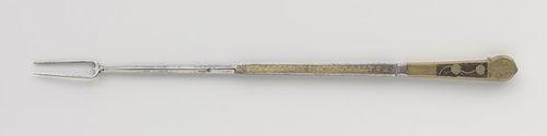vork van Karel V, Deel van een set, anoniem, 1532. Beeld: Rijksstudio