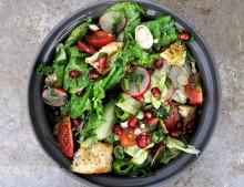 Fattoush Libanese Salade foto Merel Kamp potaatoo
